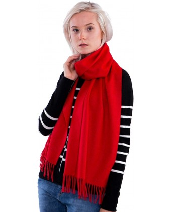 100% Cashmere Scarf - Premium Quality - Classic Cozy Soft and Stylish for Men and Women